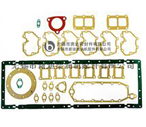 6D125full gaskets
